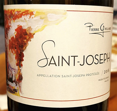 Pierre Gaillard Saint-Joseph Syrah 2016 красное вино отзыв