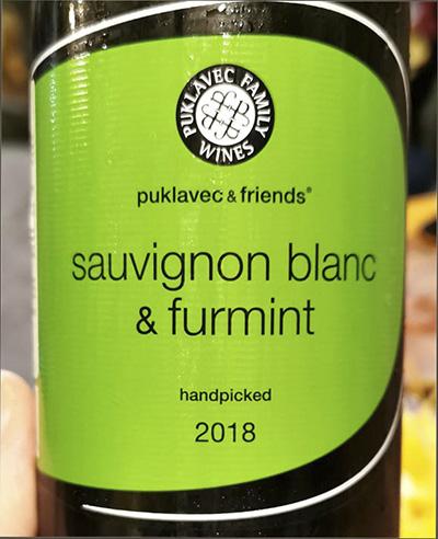 Puklavec & Friends Sauvignon Blanc & Furmint 2018 Белое вино отзыв
