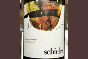 Schiefer Welschriesling Austria 2018 белое вино отзыв