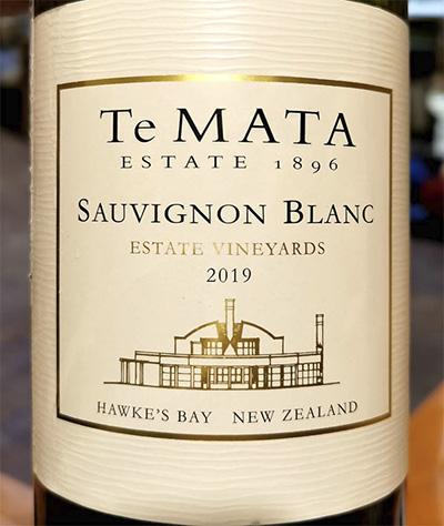 Te Mata Sauvignon Blanc Hawke's Bay New Zealand 2019 Белое вино отзыв