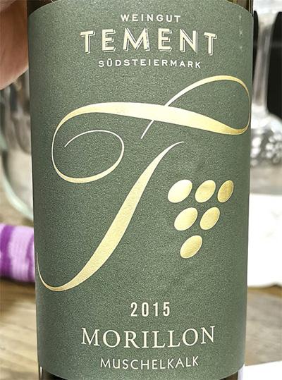 Tement sudsteiermark Morillon Muschelkalk Austria 2015 белое вино отзыв