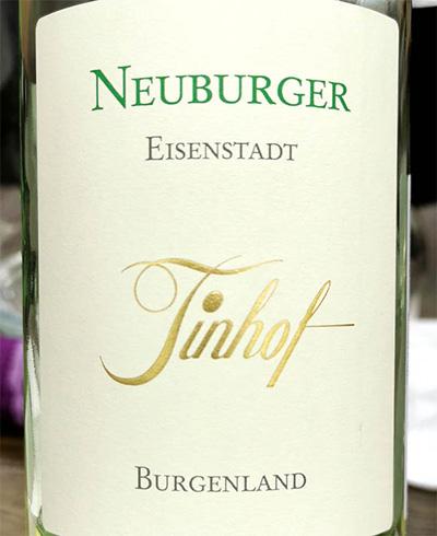 Tinhof Neuberger Eisenstadt Burgenland 2018 белое вино отзыв