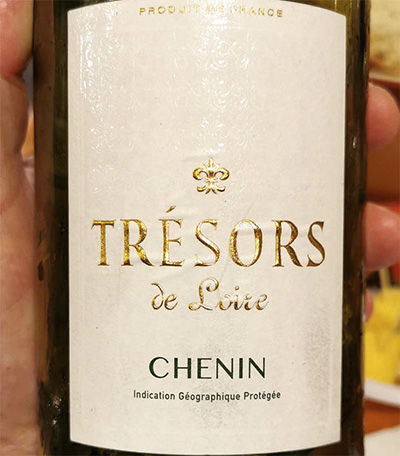 Tresors de Loire Chenin 2017 белое вино отзыв