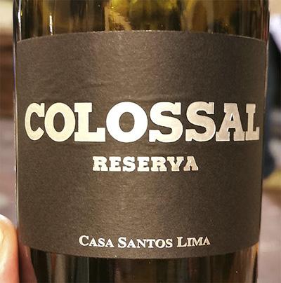 Casa Santos Lima Colossal Resereva 2016 Красное вино отзыв