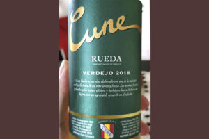 Cune Verdejo Rueda 2018 Белое вино отзыв