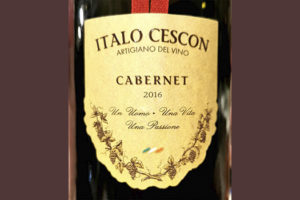 Italo Cescon Cabernet Piave 2016 Красное вино отзыв