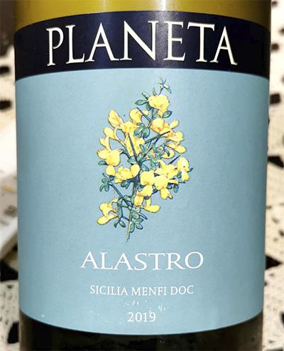 Planeta Alastro Sicilia Menfi DOC 2019 Белое вино отзыв