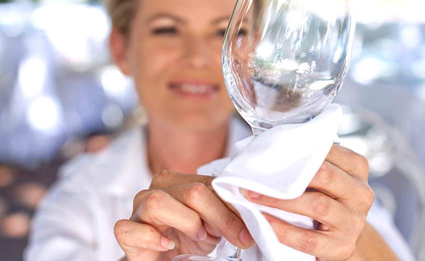 Использование, чистка и хранение бокалов для вина