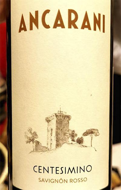 Ancarani Centesimino Savignon rosso 2017 Красное вино отзыв