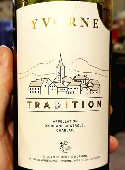 Artisans Vignerons d'Yvorne Yvorne Tradition Белое вино отзыв