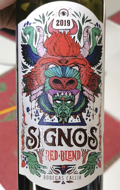 Bodegas Callia Signos red blend 2019 Отзыв красное вино