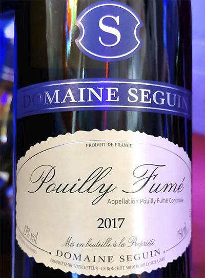 Domaine Seguin Pouilly Fume 2017 Белое вино отзыв