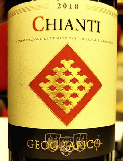 Geografico Chianti 2018 Отзыв красное вино