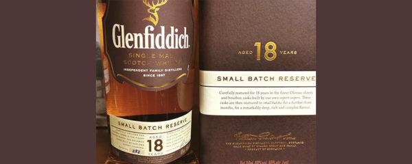 Glenfiddich Single Malt Small Batch Reserve 18 y.o. 0,75 л. Отзыв виски