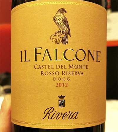 Il Rivera Falcone Castel del Monte rosso riserva 2012 Отзыв красное вино