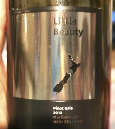 Little Beauty Pinot Gris Marlboro New Zealand 2012 Белое вино отзыв