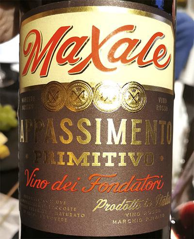 Orion Wines Maxale Appassimento Primitivo Vino del Fondatori Puglia 2017 Красное вино отзыв
