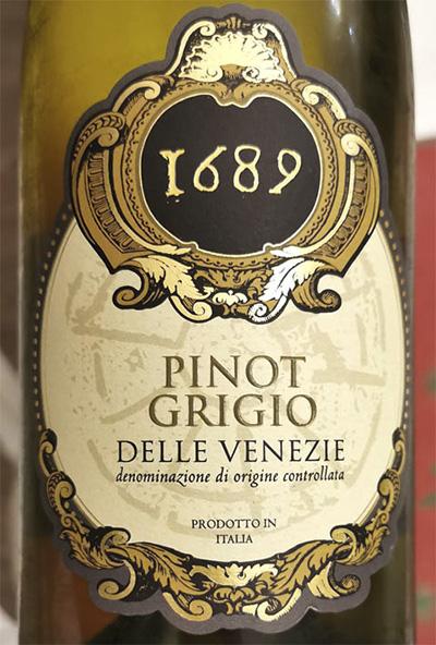 Salvaterra 1689 Pinot Grigio delle Venezie 2019 Белое вино отзыв