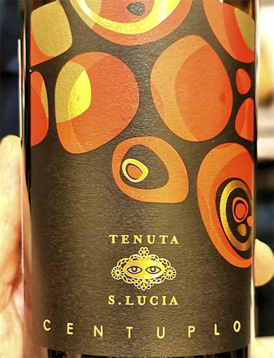 Tenuta Santa Lucia Centuplo Centesimino Rubicone bio 2018 Красное вино отзыв