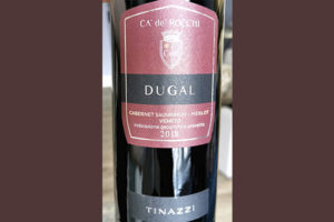 Tinazzi CA' de' Rocchi Dugal Cabernet Sauvignon Merlot Veneto 2018 Красное вино отзыв