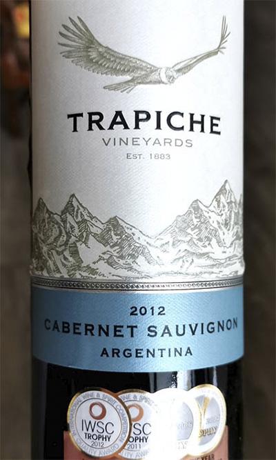 Trapiche Vineyards Cabernet Savignon Argentina 2012 Красное вино отзыв