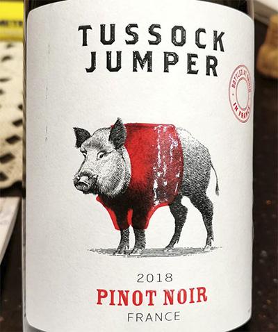 Tussock Jumper Pinot Noir 2018 Красное вино отзыв