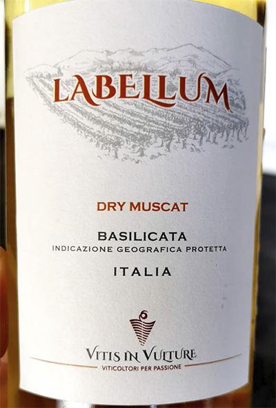 Vitis in Vulture Labellum Dry Muscat Basilicata 2018 Отзыв белое вино