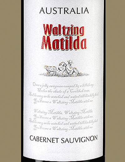 Waltsing Matilda Cabernet Sauvignon 2014 Отзыв красное вино