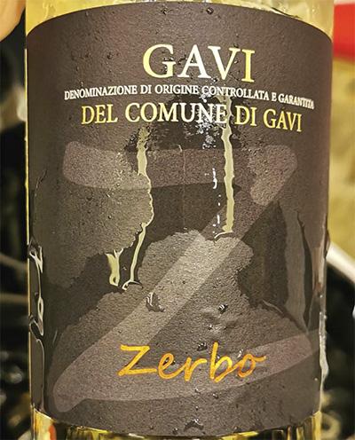 Zerbo Gavi del Comune di Gavi 2019 Отзыв белое вино
