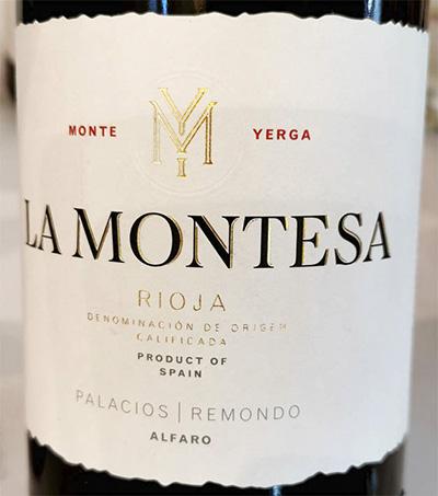 Alfaro Palacios Remondo La Montesa Rioja 2017 Красное вино отзыв