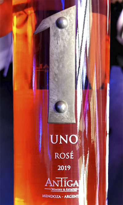 Antigal Uno 1 Rose Mendosa Argentina 2019 Розовое вино отзыв