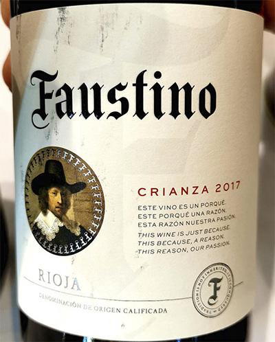 Faustino V Crianza Rioja 2017 Красное вино отзыв