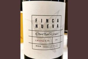 Finca Nueva Crianza Rioja 2015 Красное вино отзыв