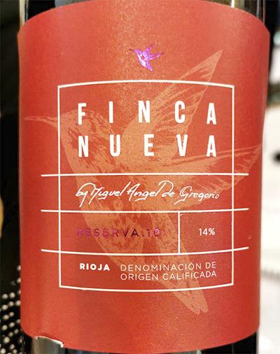 Finca Nueva Reserva.10 Rioja 2010 Красное вино отзыв