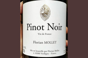 Florian Mollet Pinot Noir 2018 Красное вино отзыв