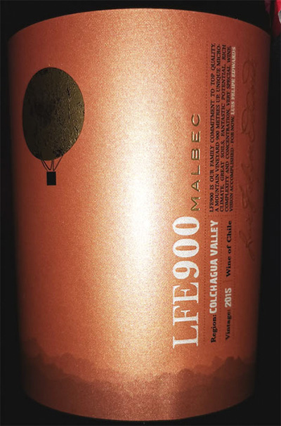 Luis Felipe Edwards LFE900 Malbec Colchagua Valley Chile 2015 Красное вино отзыв