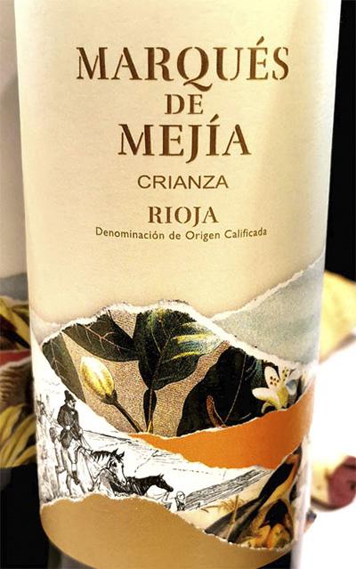 Marques de Mejia Crianza Tempranillo Rioja 2018 Красное вино отзыв