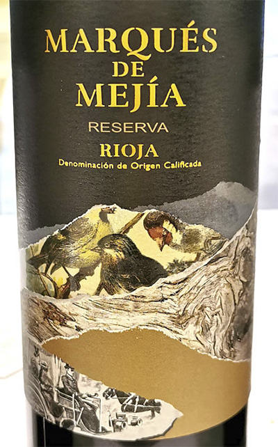 Marques de Mejia Reserva Tempranillo Rioja 2019 Красное вино отзыв