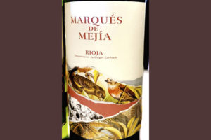 Marques de Mejia Tempranillo Rioja 2019 Красное вино отзыв
