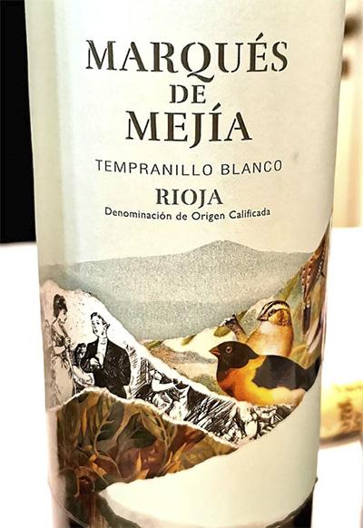 Marques de Mejia Tempranillo blanco Rioja 2018 Белое вино отзыв