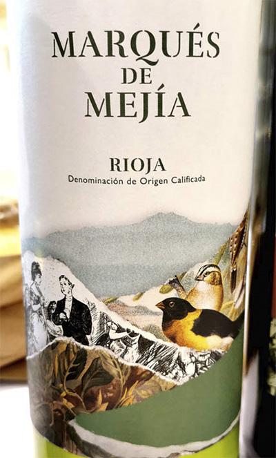 Marques de Mejia blanco Rioja 2018 Белое вино отзыв