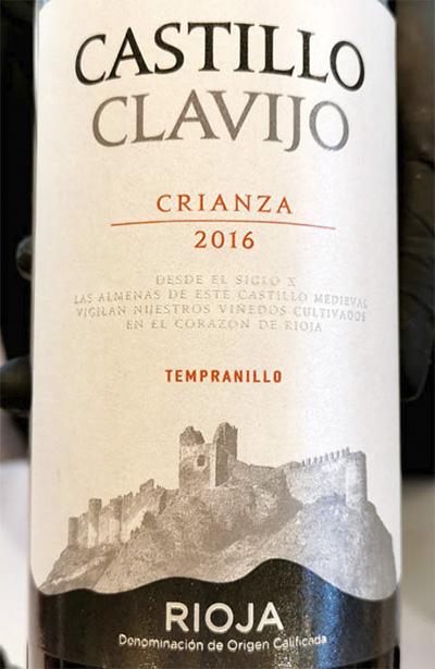 Monte Clavijo Crianza Tempranillo 2016 Красное вино отзыв
