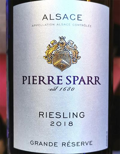 Pierre Sparr Riesling Grande Reserve Alsace 2018 Белое вино отзыв