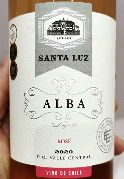 Santa Luz Alba Rose Valle Central Chile 2020 Розовое вино отзыв