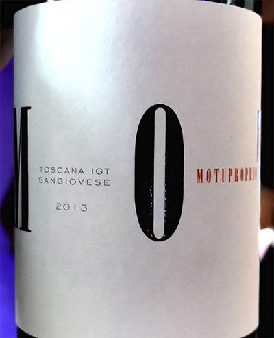 TreRose Motuproprio Sangiovese Toscana 2013 Красное вино отзыв