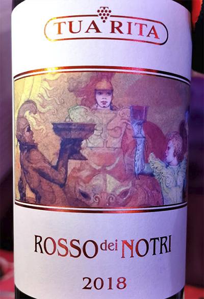 Tua Rita Rosso dei Notri 2018 Красное вино отзыв