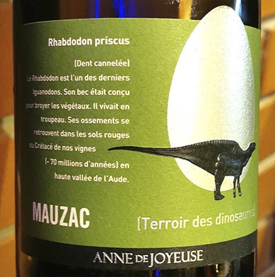 Anne de Joyeuse Rhabdodon Mauzac Pays d'Oc 2018 Белое вино отзыв