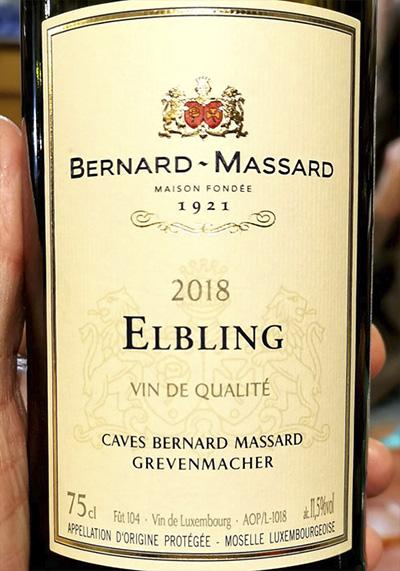Bernard-Massard Elbling Grevenmacher 2018 Белое вино отзыв