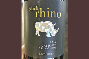 Black Rhino Cabernet Sauvignon South Africa 2016 Красное вино отзыв