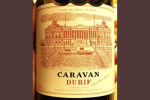 Caravan Durif 2018 Красное вино отзыв